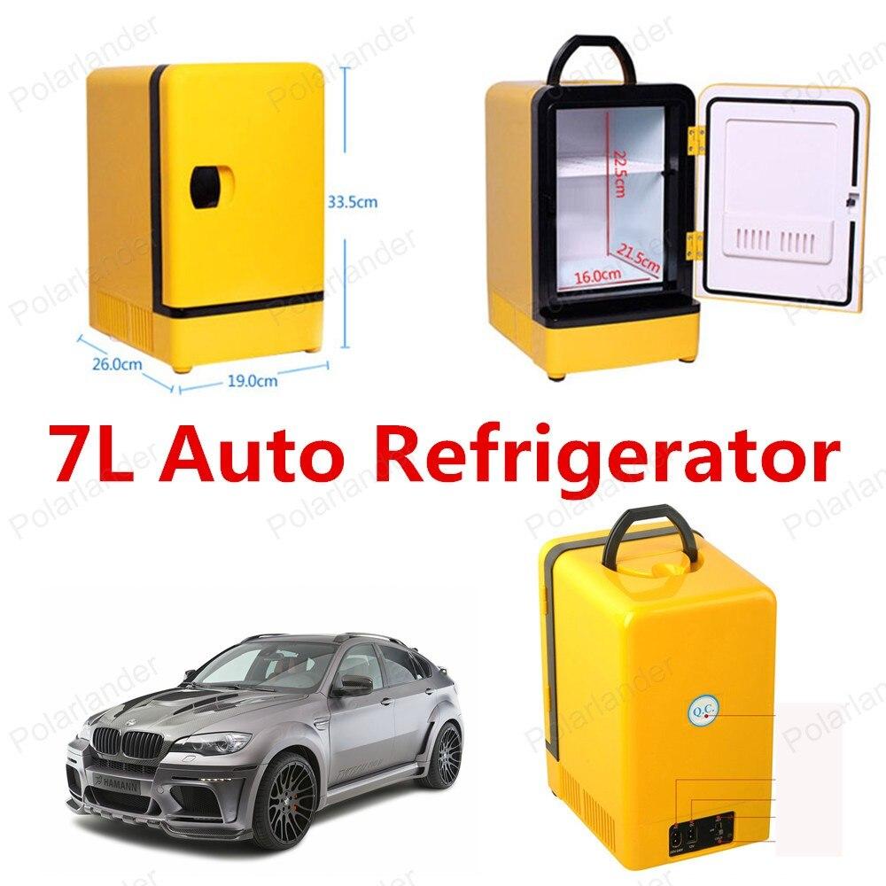 new mini car freezer car 12v 7l free mainland