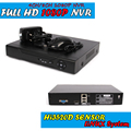 Full HD 1080 P CCTV NVR 4CH 8CH NVR Para La Cámara IP H.264 ONVIF HDMI NVR Network Video Recorder 4 Canales 8 Canales