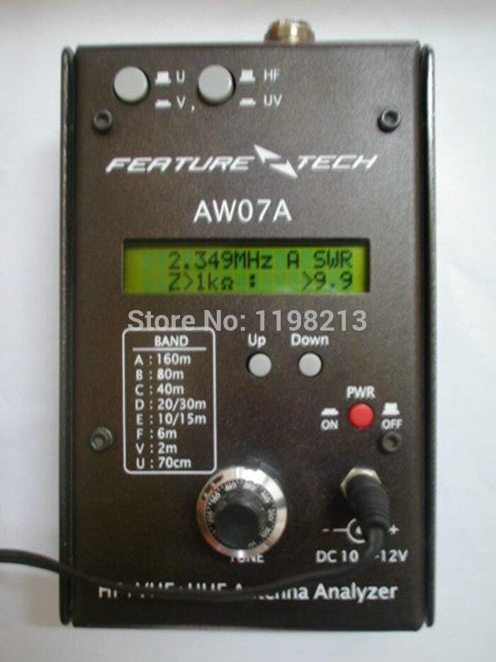 HAM Radio shortwave radio HF + UV talkie radio hand sets multiband antenna analyzer AW07A 1.5-490MHZ mypsk radio digital modem 40m band shortwave radio radio data transmission psk cw rtty