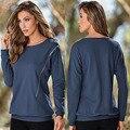 Autumn Women long sleeve Zipper hoodie sweatshirt lady Warm Tops Shirt Tee Pullovers 2017 NEW fashion female frock loose blouse