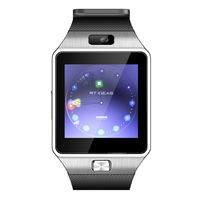 Business Anti Lost Smart Watch Phone Function Remote Camera TF Card Support Blue Tooth Music Player