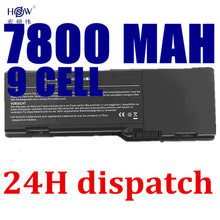 7800mAh Battery For dell Inspiron E1505 6400 1501 Latitude 131L  451-10339 451-10424 GD761 JN149 KD476 PD942 PD945 akku