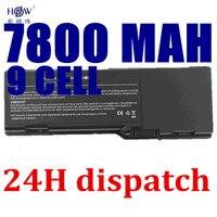 HSW 7800mAh Battery For dell Inspiron E1505 6400 1501 Latitude 131L 451 10339 451 10424 GD761 JN149 KD476 PD942 PD945