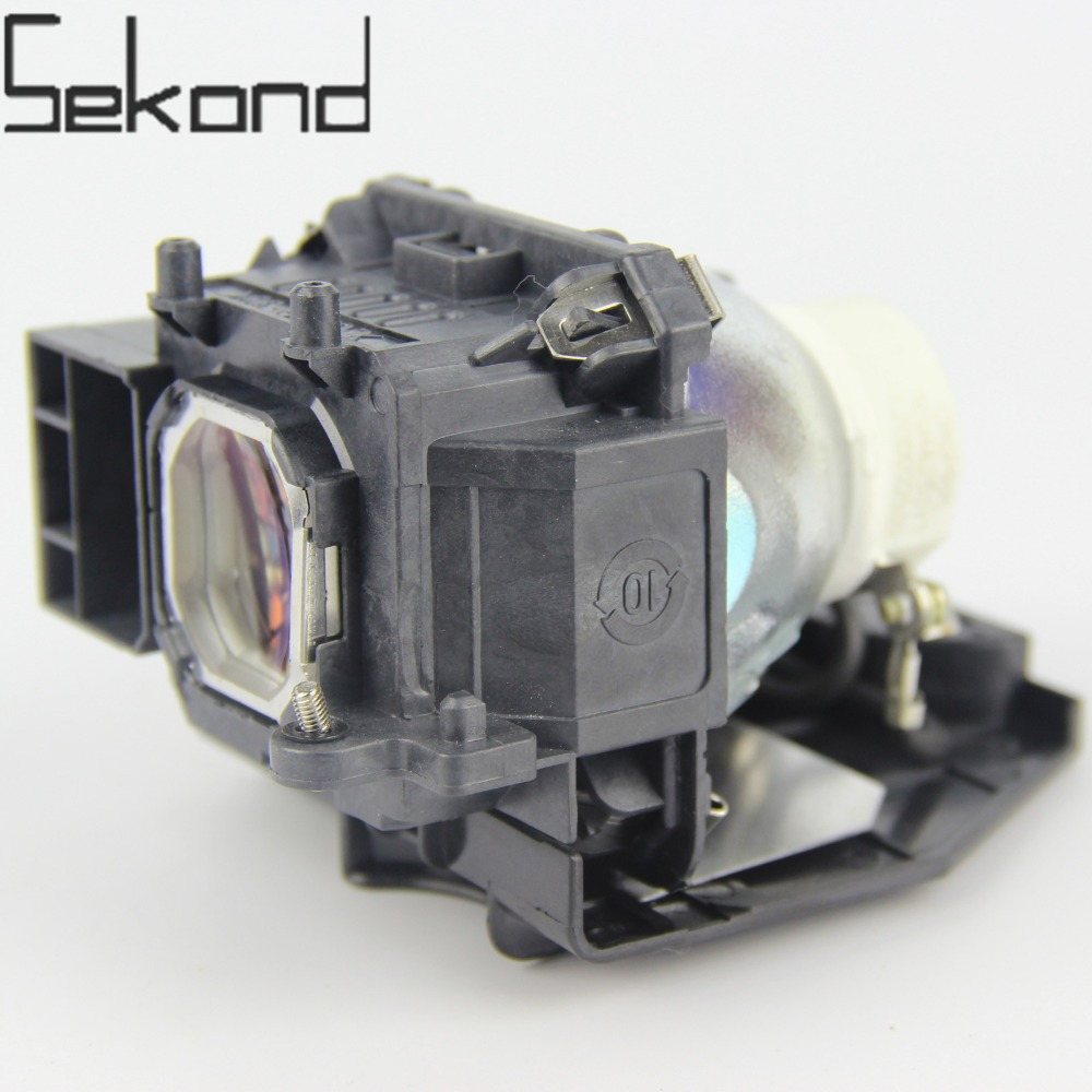 SEKOND Original USHIO bulb NP16LP / 60003120 Projector Lamp with Housing For Nec M260WS M260XS M300W M300XS M361X uhp330 264w original projector lamp with housing np06lp for nec np 1150 np1250