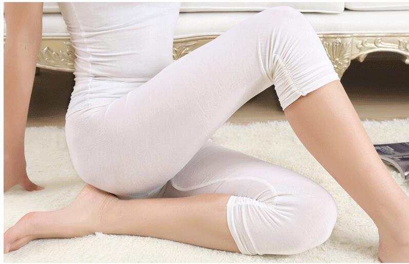 Babbytoro Women Leggings Capri Summer Leggings Modal Cotton Brand Plus Size 7xl 6xl 5xl Xs White Black Grey Leg Pants Jeggings