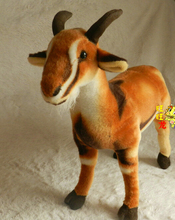 Goat Simulation Doll Plush Toys Pillow Lucky Town House Furnishings Photography Props Children'S Toy 60cm