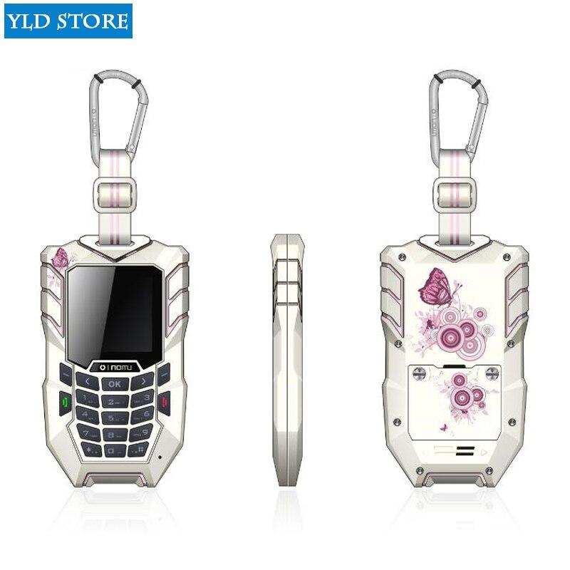 Oinom mini LM138 mobile téléphone 1.55 pouces IP67 Étanche antichoc antipoussière fonction cellulaire téléphone GSM GPRS Bluetooth téléphonique plus
