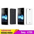 "Sony lt25i abierto original sony xperia v del teléfono celular de 4.3 ""Android 4.0 Dual core 3G WIFI GPS 1 GB RAM Envío Libre Del CCSME DHL"