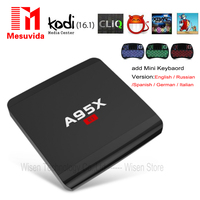 MESUVIDA A95X R1 Smart TV Box Rockchip RK3229 1G 8G Set Top Box Streaming Media Player