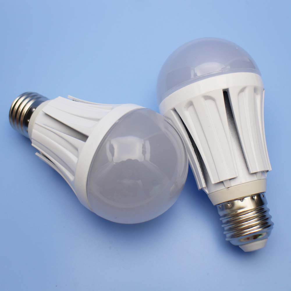 2pcs 9w Radar Motion Sensor Light Bulb Dusk To Dawn Led Night Bulb 120v 220v E26 E27 Medium Base