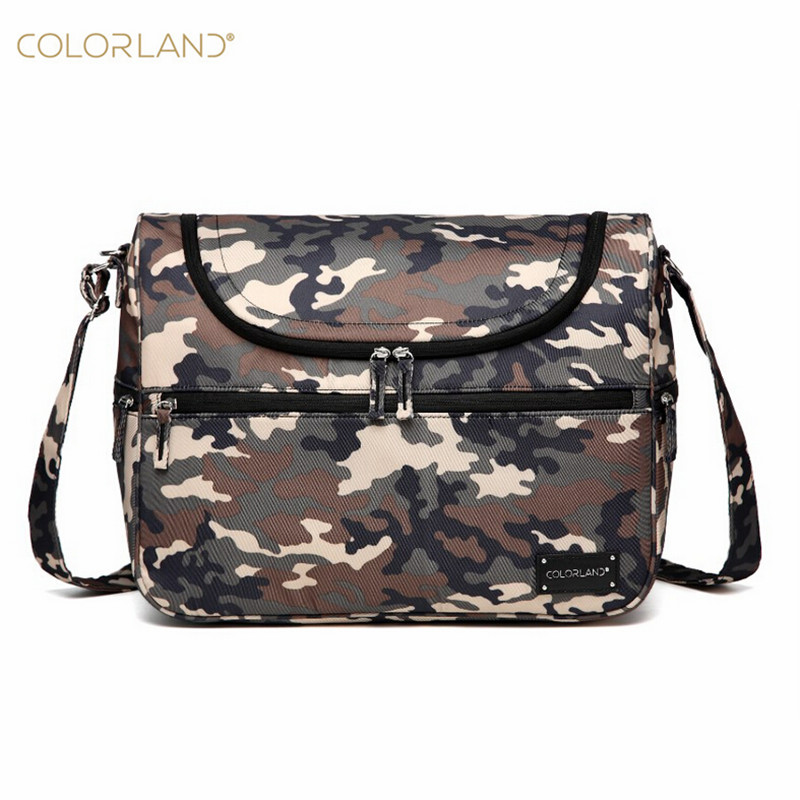 Colorland Baby diaper Bags Messenger Large capacity Organizer fashion Nappy Bags For Mom Fashion Mother Maternity Stroller Bag