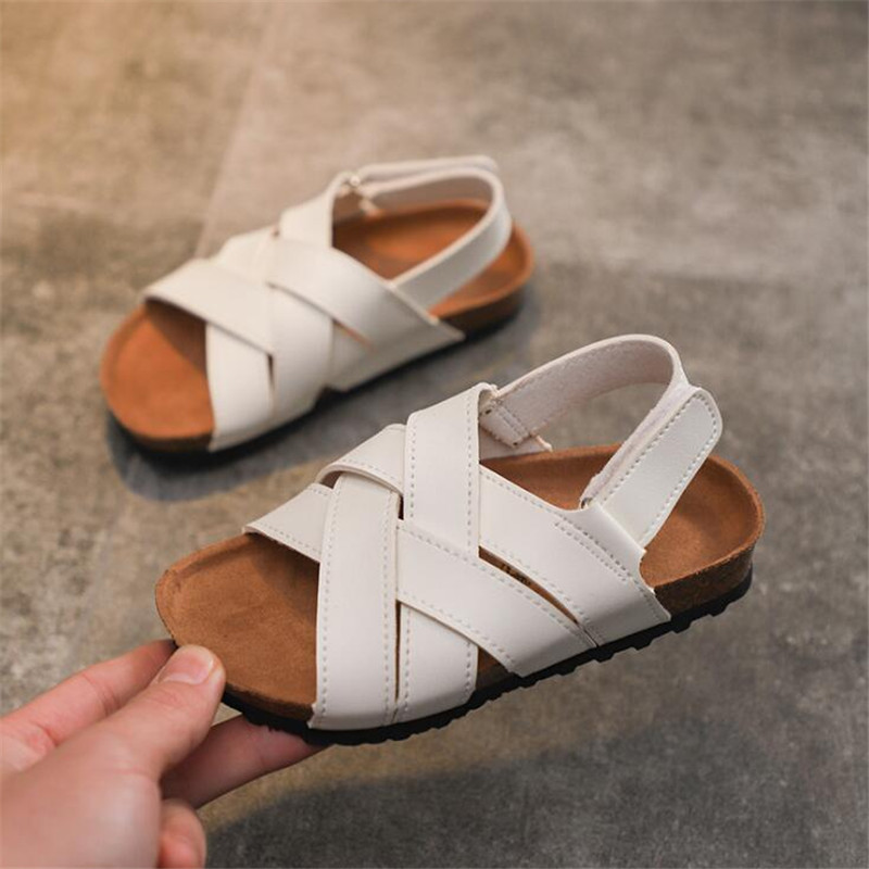 Boys Girls Beach Shoes 2019 New Roman Sandals Girl Boy School Sandals Shoes Children Fashion Non slip Summer Shoes|Sandals| |  - title=