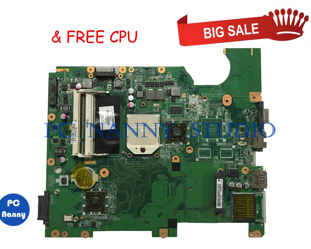 PCNANNY 577064-001 FOR Compaq CQ61 G61 Mainboard Laptop Motherboard DDR2 With Cpu Tested