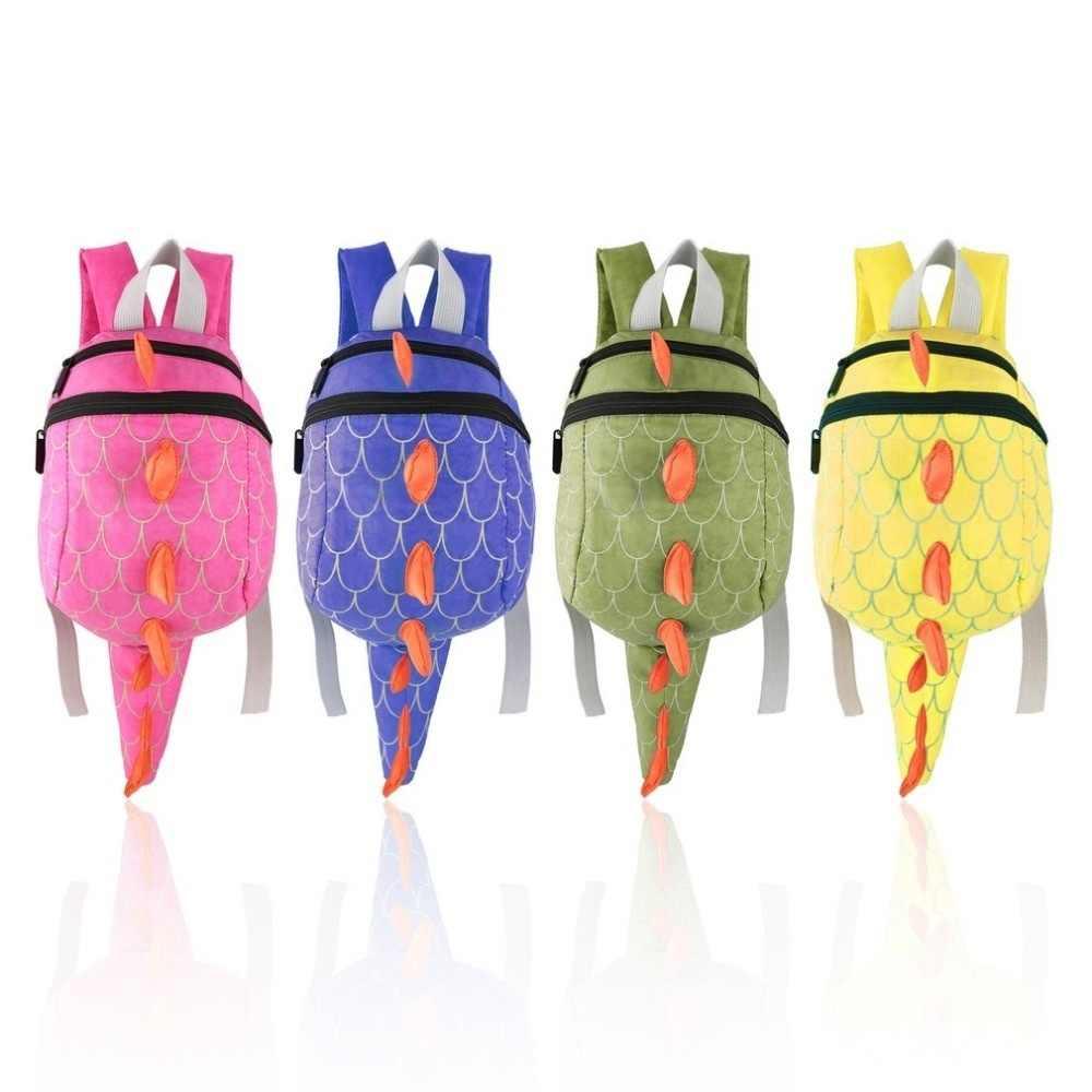 Çocuklar Dinozor Sırt Çantası Karikatür Hayvanlar Küçük pelüş çanta Kişilik Sırt Çantası Çocuklar için Dinozor Anaokulu Sırt Çantası Erkek
