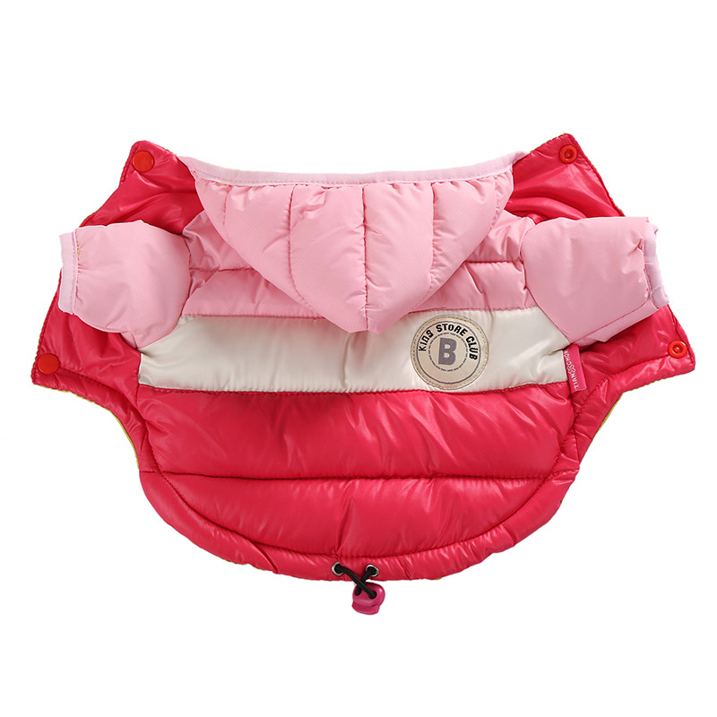 Waterproof and Hooded Dog Jacket with Leash Hole Ideal for Autumn/Winter Season 3
