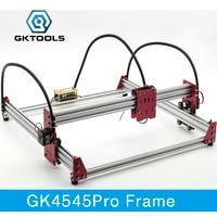 GKTOOLS 45 45cm DIY Mini CNC Laser Engraver Cutter Engraving Machine All Metal Frame Benbox GRBL