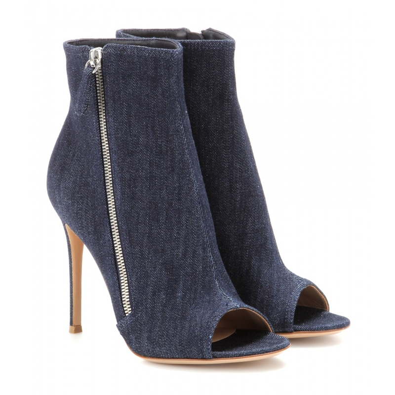 Online Buy Wholesale denim high heels from China denim high heels ...