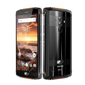 Image 4 - HOMTOM ZJI ZOJI Z9 Helio P23 IP68 مقاوم للماء 4G هاتف LTE الذكي ثماني النواة 5.7 بوصة 6GB RAM 64GB ROM 5500mAh كامل العصابات الهاتف المحمول
