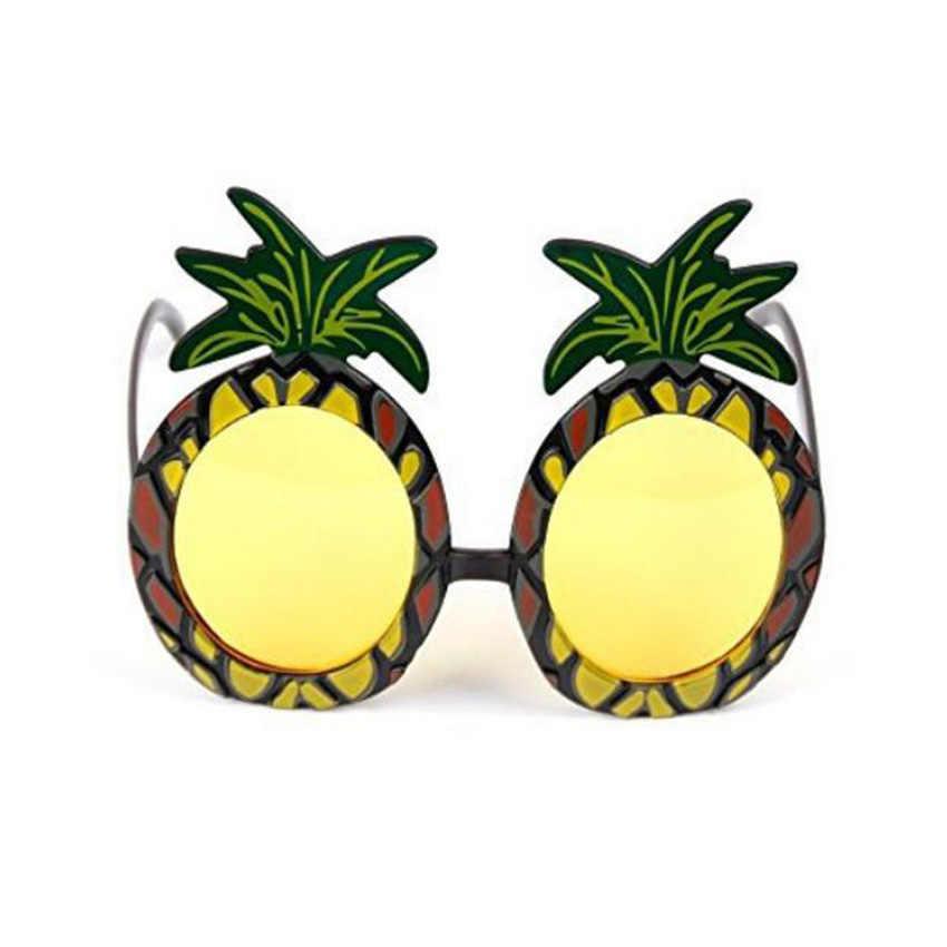 Гавайский пляж Новинка ананас пивные солнцезащитные очки Девичник стаг очки для вечеринки Карнавал мультяшное украшение для вечеринок