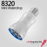 E27 Focusable Ajustável Único LED Spot Lâmpada Spotlight lâmpada Anti-reflexo Museu galeria de arte Serviço de Iluminação 6 W