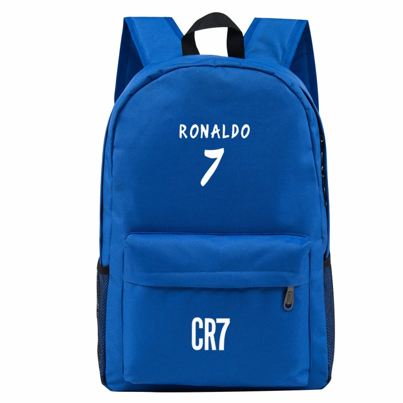 50338f3512e3 Teen Backpack Men School Bags for Teenagers Boys Book Bag Back Pack Ronaldo  kids Bookbags for Children Cool back bag bagpack-in Backpacks from Luggage …