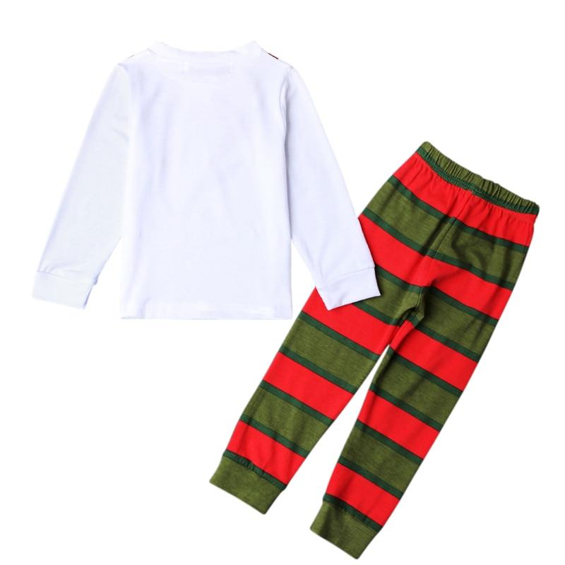 ba0b3f87a5 Family Christmas Pajama Sets Cotton Kids Baby Boy Girl Xmas Reindeer  Sleepwear Toddler Pyjamas Nightwear Pajamas Clothes DS40-in Pajama Sets  from Mother ...