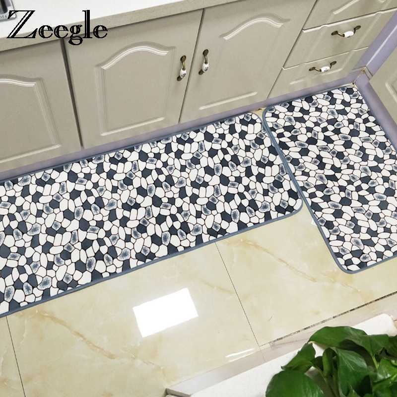 Zeegle Kitchen Mat Rug for Living Room Bathroom Carpet ...