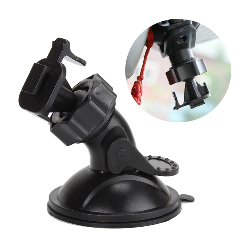 Mini T Type Car Windshield Suction Cup Mount Holder Bracket for Video Recorder DVR Camera 360 degree Rotation