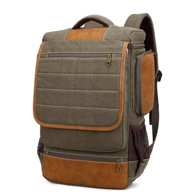 New Canvas Backpack Travel Bag Korean Version School Bag Leisure Backpacks for Laptop 14 Inch Computer Bags Rucksack
