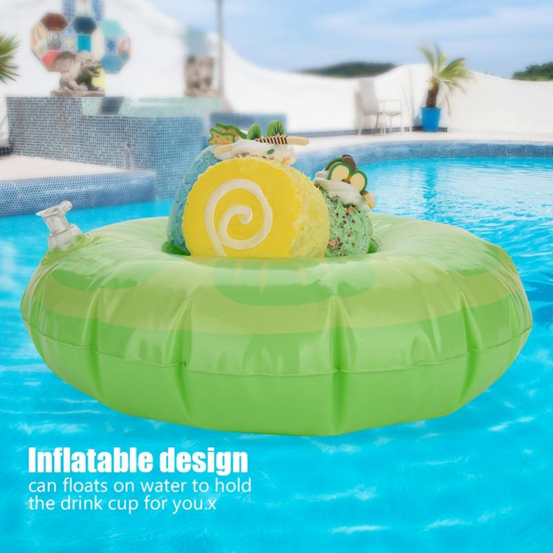 Cute Fruit-shaped Kids Swim Beverage Holders for Pool Beach Party Water Fun Float Inflatable Floating Swimming Pool Beach Party