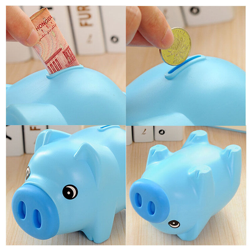 New Arrival Coin Box Children Toys Kids Gifts 1pcs Novelty Portable Cute Plastic Piggy Bank Toy In Gags Practical Jokes From Hobbies On