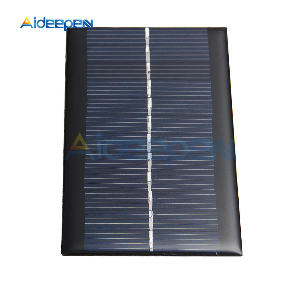 Solar Panel 6V 1W Mini Solar System DIY For Battery Cell Phone Chargers Portable Solar Cell
