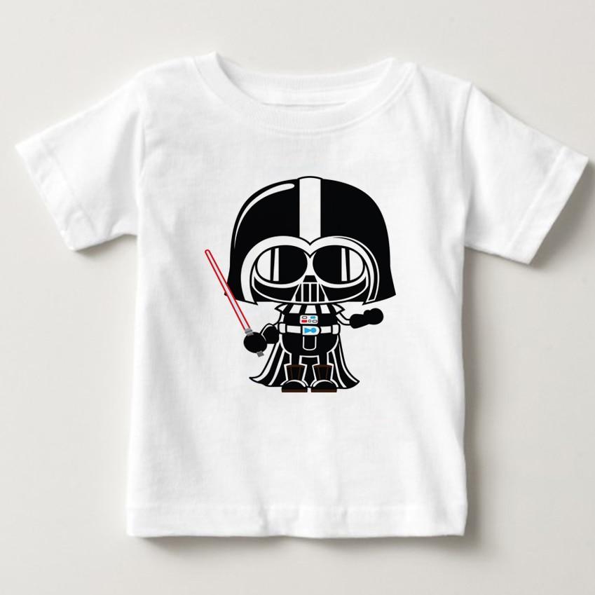 movies Star Wars children boys t shirt kids Star Wars Printed shirt kids clothe boys t-shirt top children clothing enfant NN