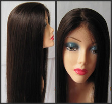 Free shipping 6A Grade Unprocessed Brazilian virgin remy hair  Full Lace Human Hair Wigs Lace Front Wigs   for Black Women