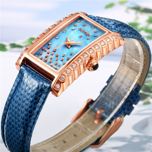 CADISEN Brand Ladies Watch Women Luxury Fashion Casual Quartz Watch Waterproof Luminous Bracelet Women Watches Relogio Feminino free shipping kylin bell ultrasonic cleaner serise please contact me for the price