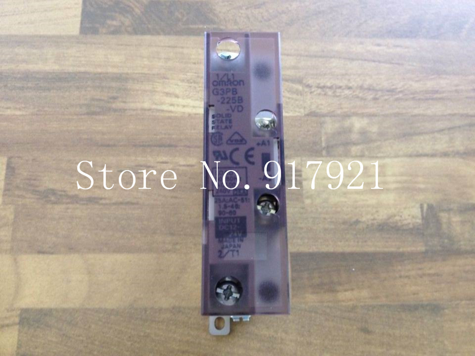[ZOB] original G3PB-225B-VD 25A DC12-24V solid state relay  --2pcs/lot normally open single phase solid state relay ssr mgr 1 d48120 120a control dc ac 24 480v
