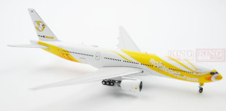 Special: Wings XX4877 Nok Scoot JC B777-200ER HS-XBA 1:400 commercial jetliners plane model hobby