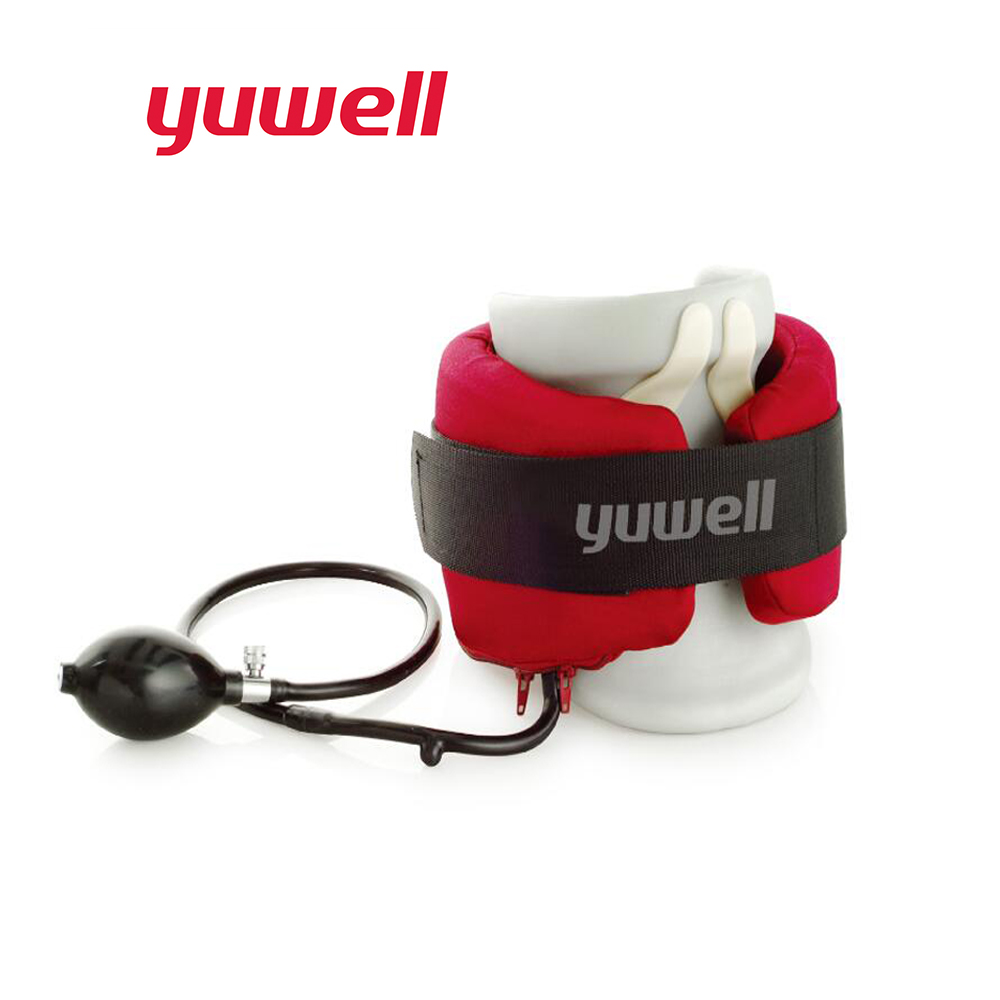 Yuwell A Type Neck Traction Therapy Neck Massage Cervical Vertebra Supports Collar Orthopedics Health Care Inflatable Massager Medical Brace-1