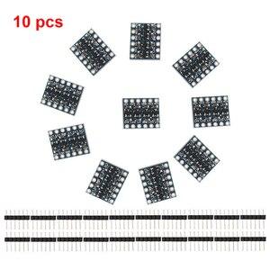 Image 3 - 10 stücke 3 5V 4 Kanal Logic Level Converter Bi Directional Shifter Modul Für IIC