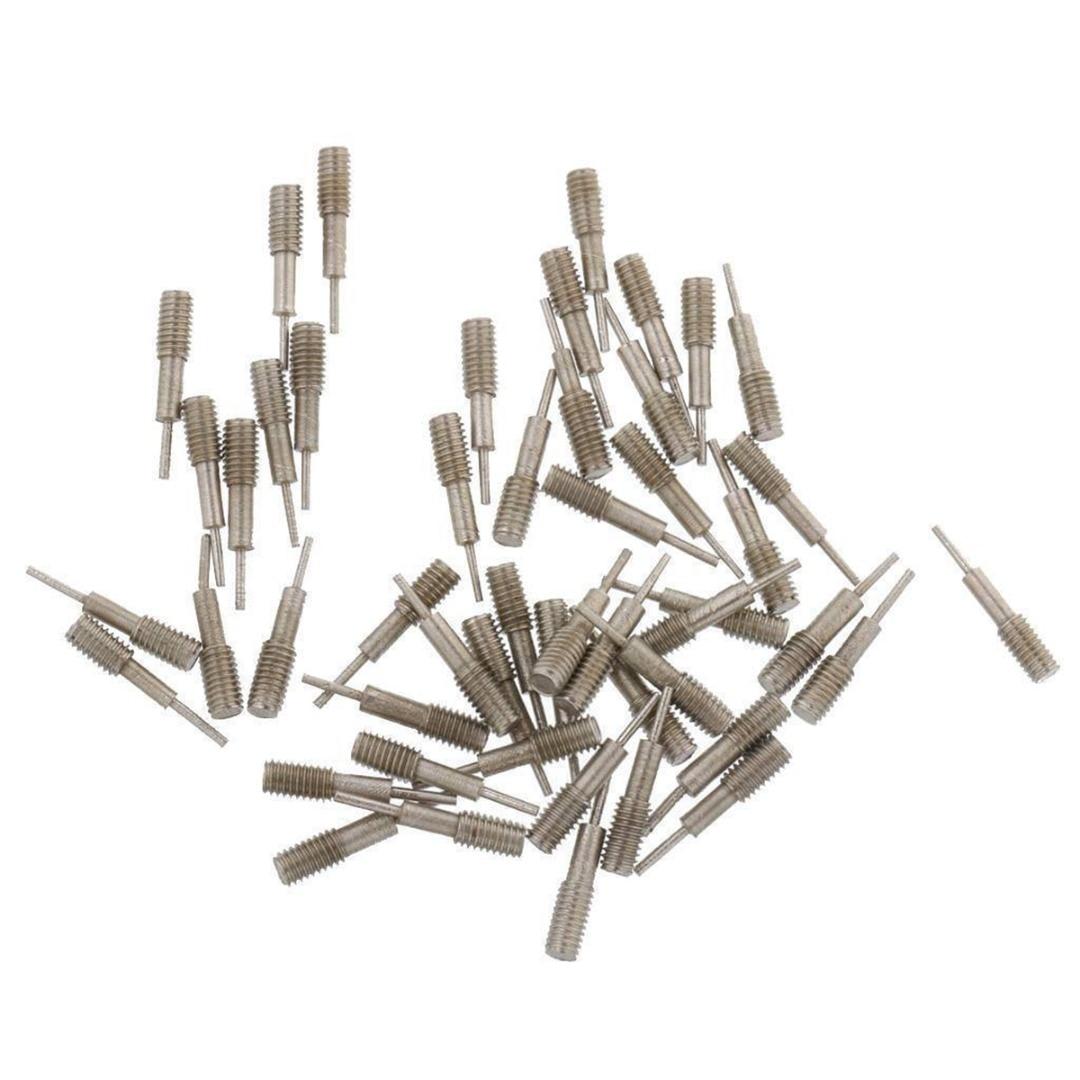50Pcs Spare Pins Watches Repair Tools Pins Watch Band Strap Link Removal Adjuster Repairs Tool Kit