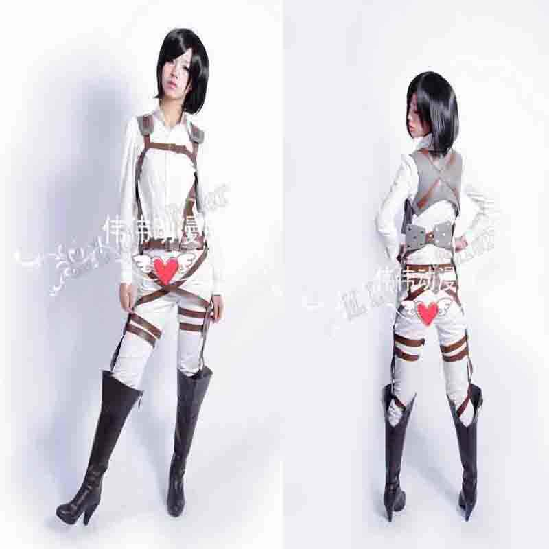 Attack on Titan Shingeki no Kyojin Sasha Harness Sabuk Hookshot Cosplay Sabuk Gratis Ukuran