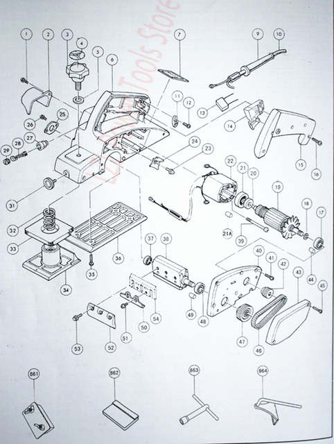 2 pcs Plastic belt For MAKITA 225007-7 N1900B KP0800 1923B KP0810C Makita Br Wiring Diagram on