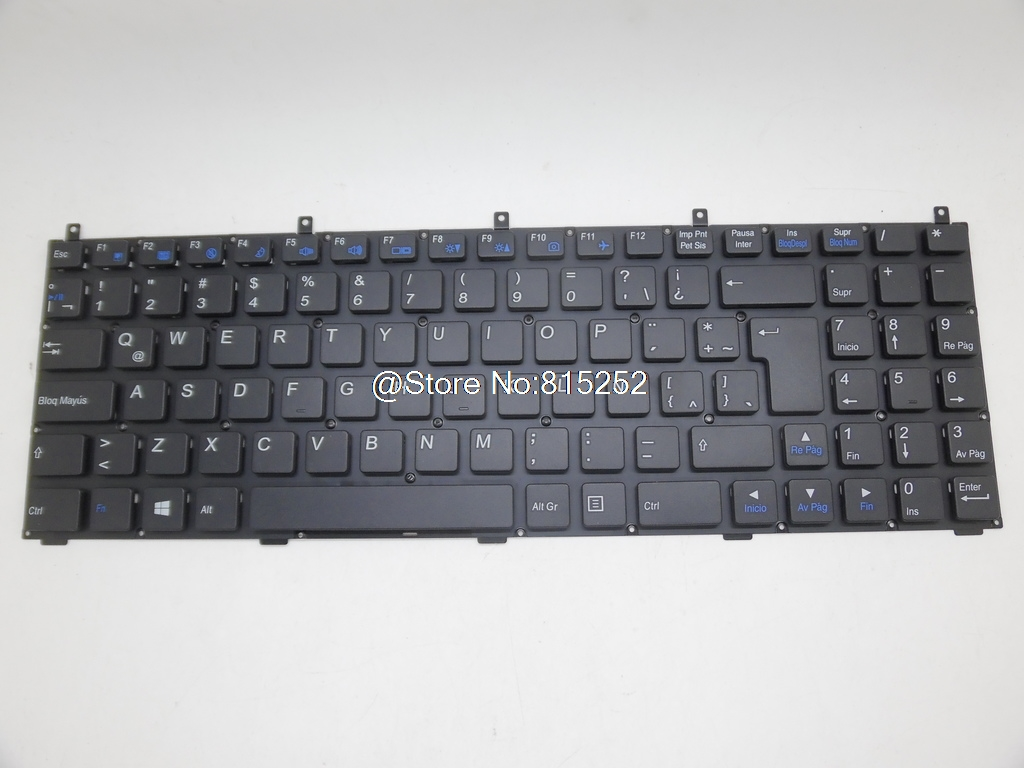 Laptop Keyboard For CLEVO M9800 MP-08J46AF-4307W MP-08J43IN-430 MP-08J46LA-4307W French Arabic/Indian/Latin America/Portugal laptop keyboard for clevo n550rc n550rn n551rc fn