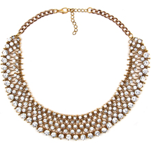 Unique numerous Kate same style crystal necklace with kinds of chain statement necklace za chokers necklace for women dress