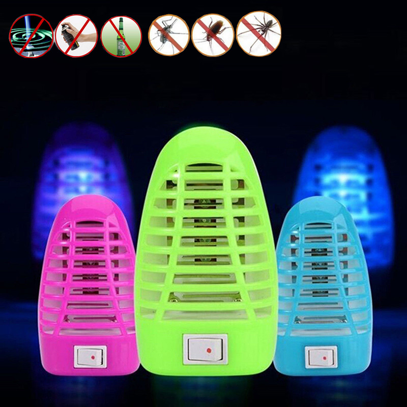 Electronic Mosquito Killer LED Socket Random Lamp Anti Newest Moth Bug  Zapper Stinger Insect Killer Trap. Compare Prices on Insect Killer Lamps  Online Shopping Buy Low