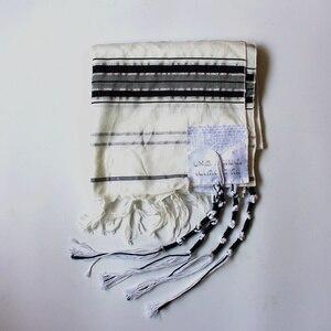 Image 2 - 74x20 дюймовая Черная шаль для молитв с изображением города история с сочетающейся сумкой еврейские высоты