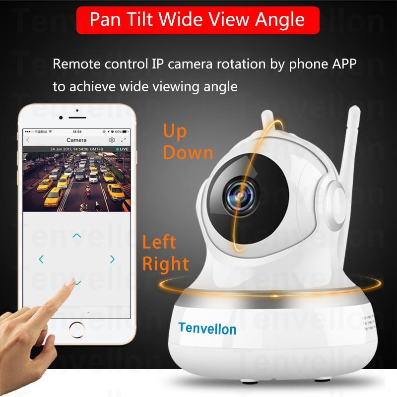1080p Wifi Ip Camera Wireless Surveillance Security Video Cloud Storage Sound Motion Detection Sensor Baby Monitor Ir Ptz In Cameras