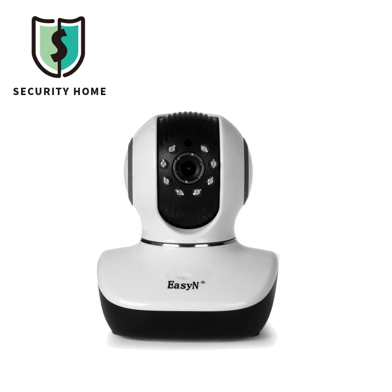 Wireless Mini Camera EasyN 10D 1.0MP H.264 CMOS IP Camera With Pan / Tilt Night Vision Security Surveillance Camera For Home(China (Mainland))