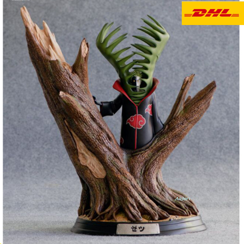 17 NARUTO Akatsuki Statue Zetsu Bust Full-Length Portrait GK Senju Hashirama Action Figure Collectible Model Toy BOX 43CM Z48517 NARUTO Akatsuki Statue Zetsu Bust Full-Length Portrait GK Senju Hashirama Action Figure Collectible Model Toy BOX 43CM Z485