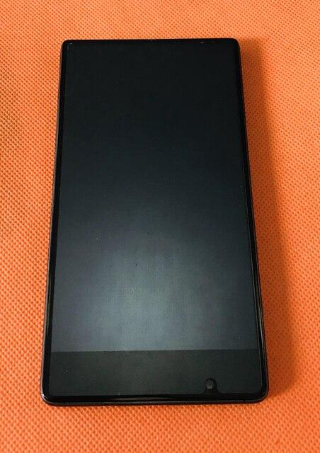 Б/у Оригинальный ЖК дисплей + дигитайзер сенсорный экран + рамка для UMIDIGI Crystal MTK6737T четырехъядерный 5,5 дюйма FHD Бесплатная доставка